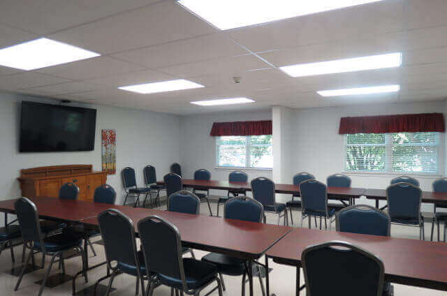 Burlington Homes Community Room