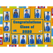 Pre-Kinders graduates cap and gown collage